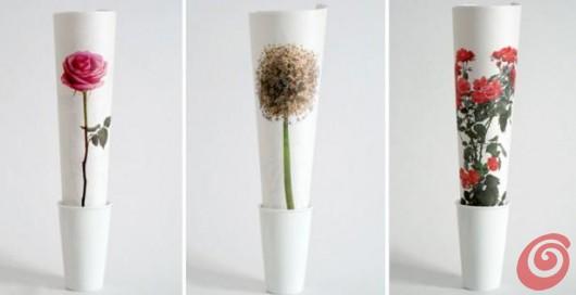 Fresh flowers senz'acqua dallo studio Itunube. Per le mamme che lavorano e amano i fiori.