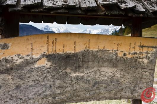 Uno chalet di montagna fedele allo stile alpino