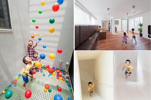 Arredare una casa a misura di bambino u i giochi e lo spazio