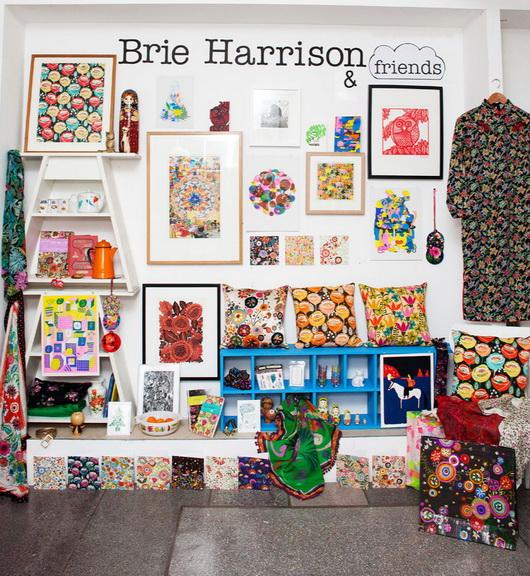 Un negozio, l'ispirazione e la storia: tutto in uno! Ecco Supermarket Sarah di Brie Harrison.