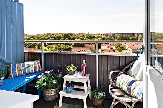 Idee per arredare e addobbare il balcone estivo – Casa e Trend