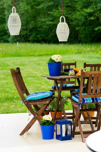 Il terrazzo in blu, consigli per acquistare all'Ikea