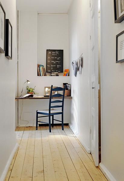Idee e soluzioni per arredare l 39 angolo studio in casa for Arredare un ingresso piccolo