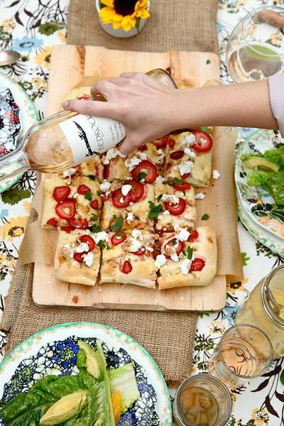 Uno stile fresco e tante ricette interessanti per questo blog di cucina dagli USA.