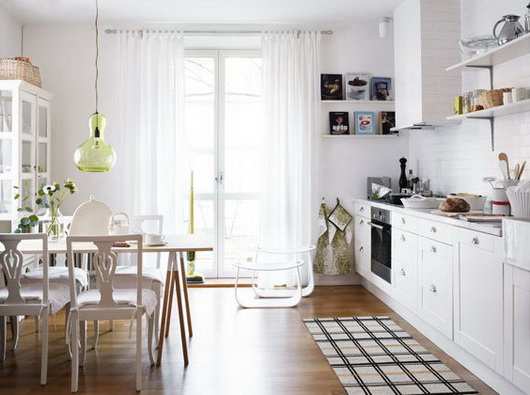 Cucine e sale da pranzo ben arredate nelle foto di anna for Foto case arredate