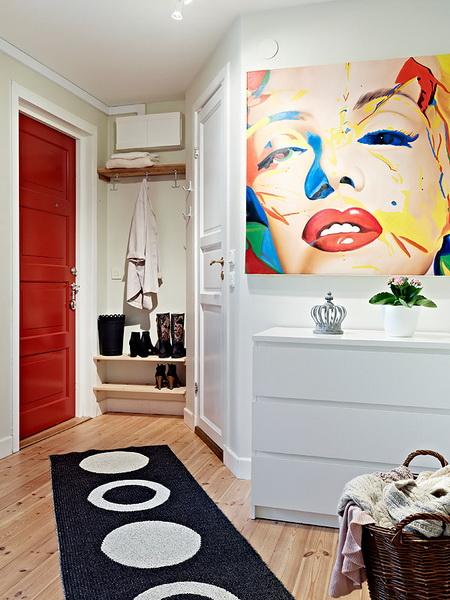 Come arredare un ingresso o un corridoio casa e trend for Ingresso soggiorno arredare