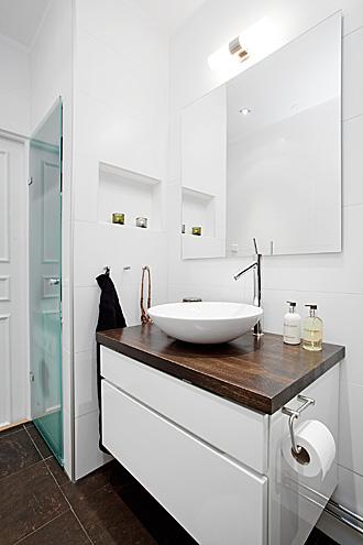 Il bagno con la lavatrice e l\'asciugatrice – Casa e Trend
