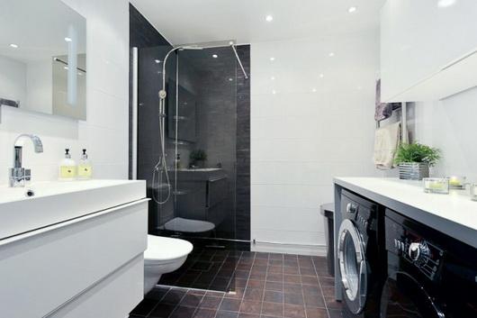Bagno Lavanderia Piccolo : Il bagno con la lavatrice e l asciugatrice u casa e trend