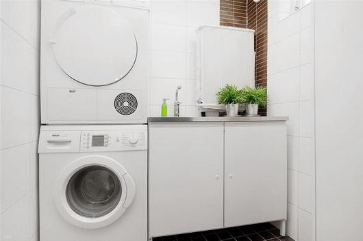 Arredare la lavanderia in casa casa e trend for Lavabo con lavatrice