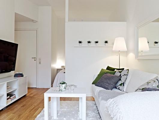 Salotto Con Letto.Arredare Un Salotto Con Zona Notte Casa E Trend