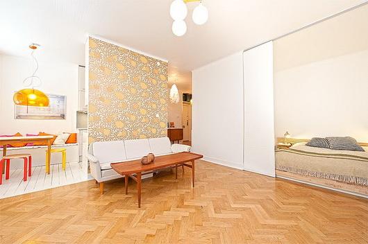 Camera Ospiti Per Vano Cucina : Arredare un salotto con zona notte u2013 casa e trend