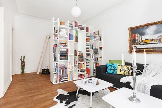arredare un salotto con zona notte ? casa e trend - Zona Studio In Soggiorno