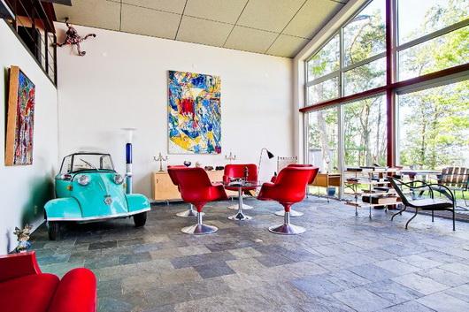 Una macchina da collezione per arredare il soggiorno