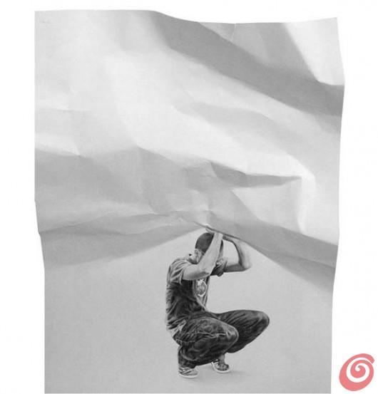 Cesar Del Valle e i suoi disegni iperrealistici