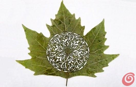 Lorenzo Duran e le sue foglie integliate