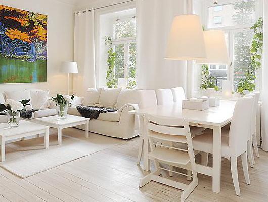 Una casa tutta bianca casa e trend for Arredamento casa bianco