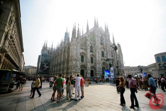 Un sabato mattina a Milano