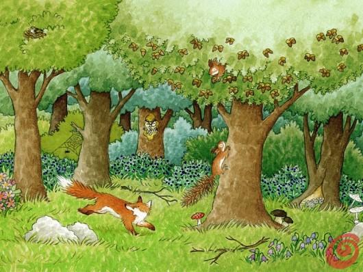 Predstavljamo Disove ilustratorje, januar - Barbara Jelenkovich
