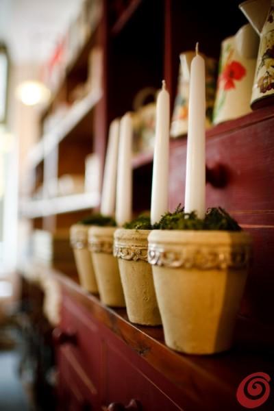 Adventne sveče - dekoracija