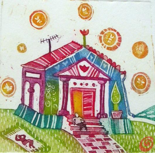 Gli illustratori del Calendario di Casa e Trend, agosto - David Ličen
