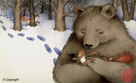 Gli illustratori del calendario di Casa e Trend , gennaio - Barbara Jelekovich