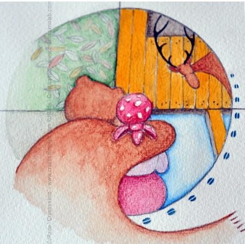 Ilustratorji s koledarja, september - Jožica Rade