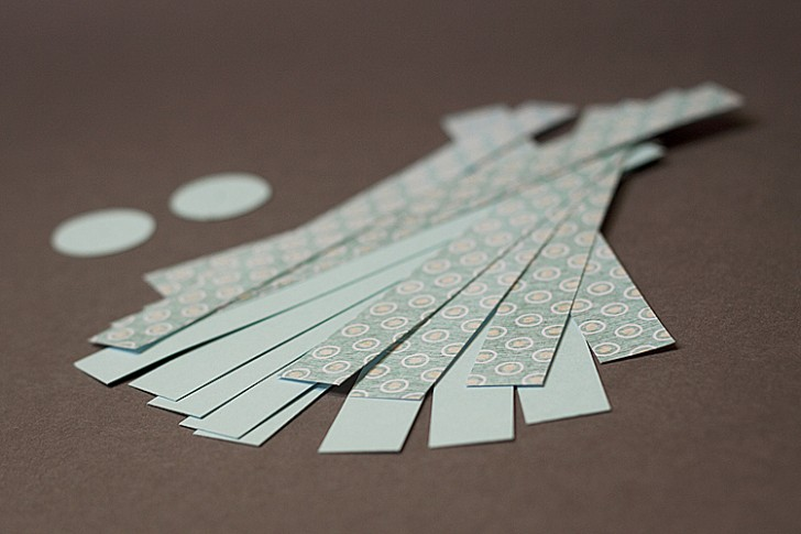 Papirnati okraski za novoletno jelko