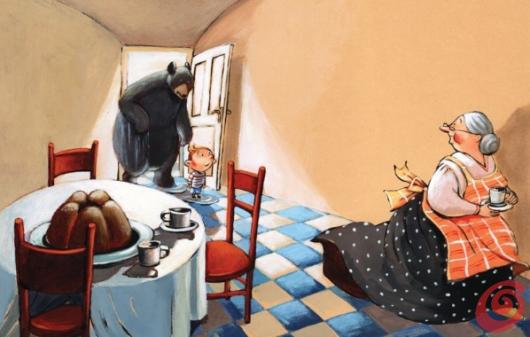 Gli illustratori del Calendario di Casa e Trend, marzo - Polona Lovšin