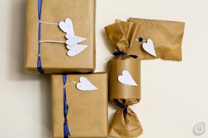 Confezioni regalo natalizie fai da te