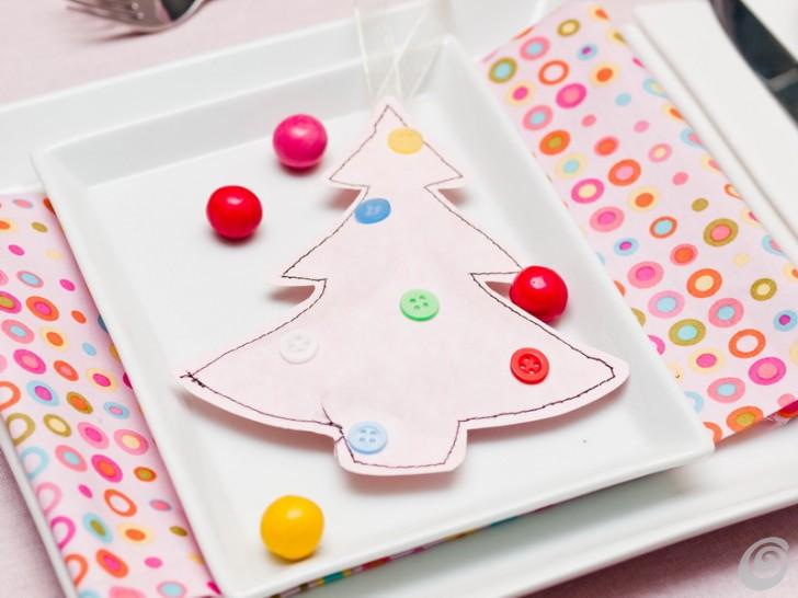 La tavola di natale - quest'anno in rosa