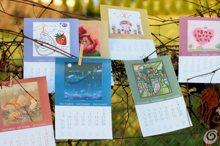 Il calendario 2012 da stampare gratis - Free printable calendar 2012