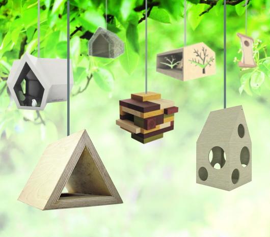 Eccezionale Le casette per gli uccelli innovative – Casa e Trend XI48