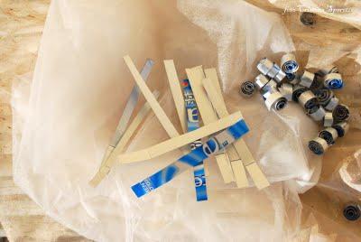 Novoletni okraski iz recikliranih materialov - tetrapak