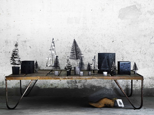 Gli addobbi natalizi di TineK