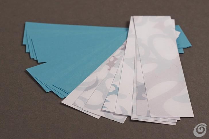 Regali di natale fai da te - il bracciale di carta
