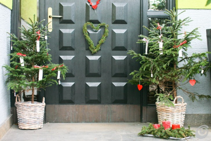 Favoloso Addobbi natalizi per la porta e gli esterni – Casa e Trend SL82