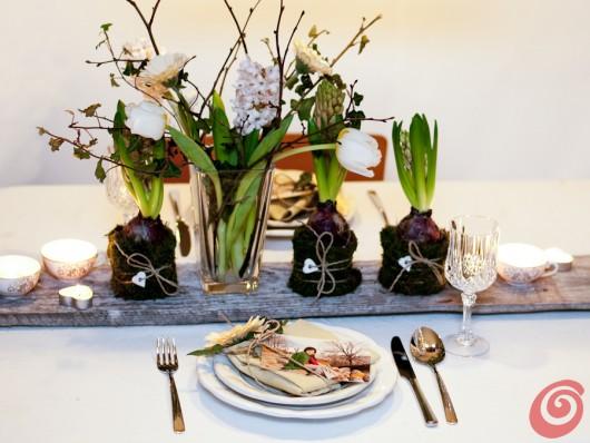 Apparecchiare la tavola, la voglia di primavera
