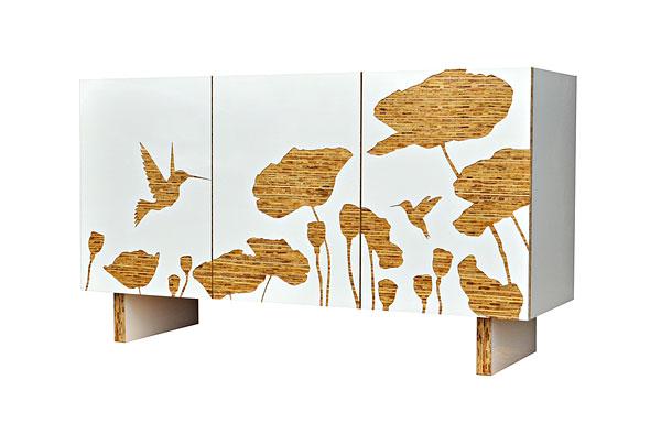Iannone e i suoi mobili ecosostenibili