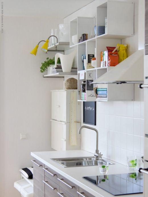 Kuhinje ikea dom in stil - Ikea mensole cucina ...