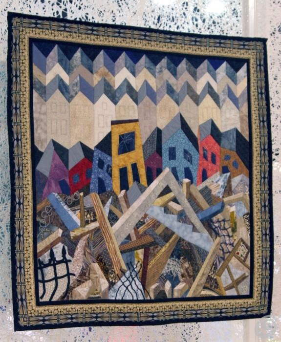 Prešite odeje in krpanke patchwork v sodobni preobleki