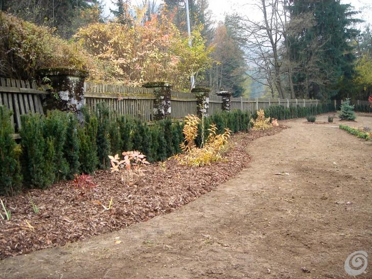 Un giardino per una villa d epoca casa e trend for Trasforma un semplice terreno in un colorato giardino