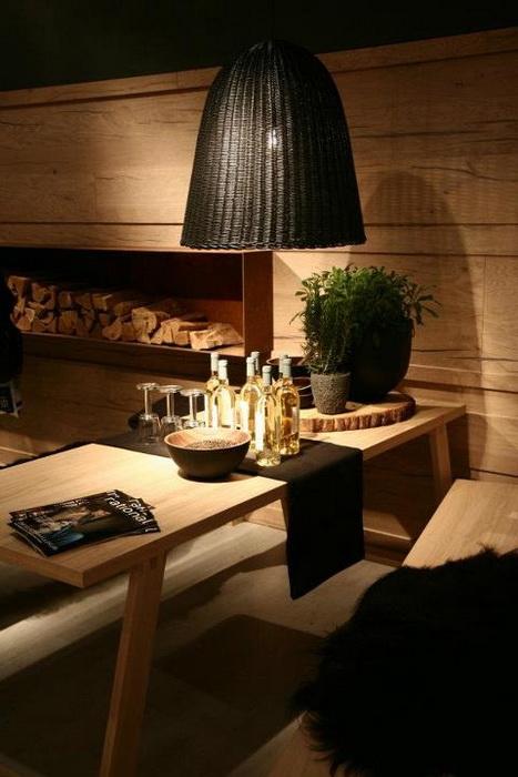 Il Salone del Mobile 2012 – Il legno massiccio grezzo in cucina ...