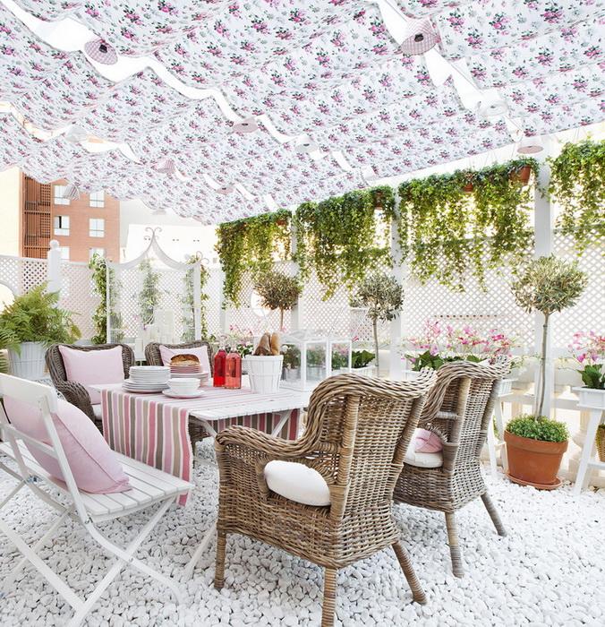La casa in rosa proposta dall 39 ikea casa e trend for Tende per esterni ikea