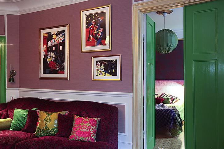 Colori e tappezzerie per una casa bohemien casa e trend - Colori da interno ...