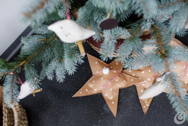 Regali Di Natale Di Carta.Regali Di Natale Le Stelle Di Carta Casa E Trend