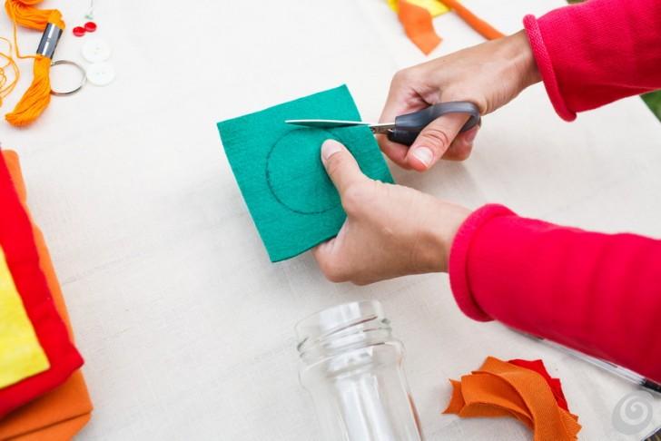 Favoloso Idee regalo, il portachiavi fai da te in feltro – Casa e Trend OY22