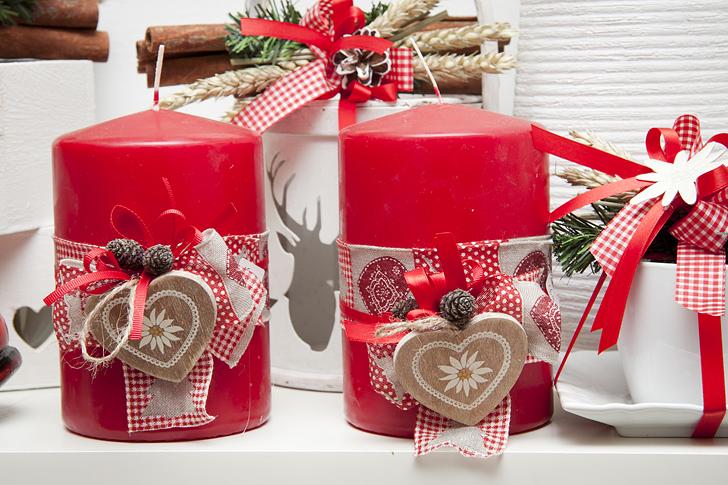 Decorare Candele Di Natale : Decorare una candela per natale natale come decorare una casa