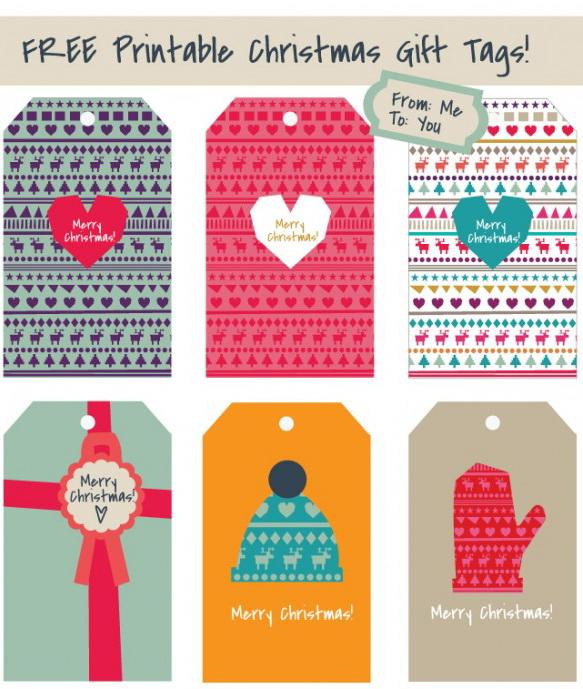 Bigliettini Segnaposto Natalizi Da Stampare.Gli Stampabili Gratis Di Questo Natale Casa E Trend