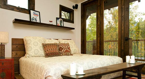 Glamping in stile vintage casa e trend - Camere da letto retro ...