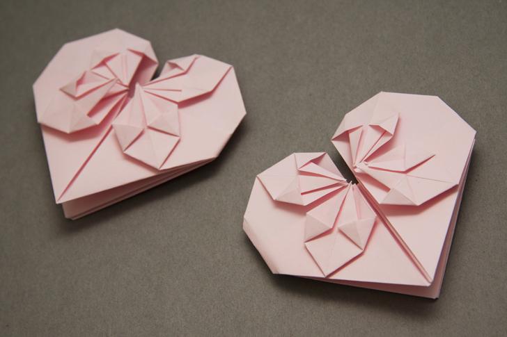Ben noto Il biglietto origami a forma di cuore – Casa e Trend VY79